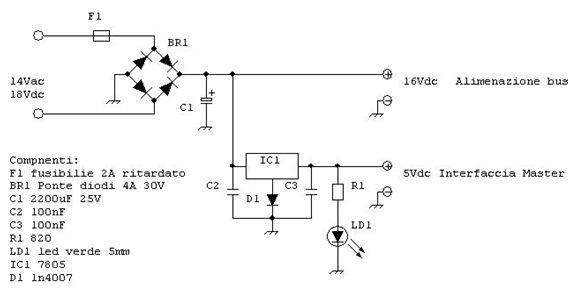 Schema Elettrico Usb 3 0 : Schema elettrico inversione di polarità deviatore a