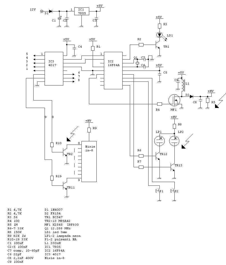 Schema Collegamento Neon : Ciao cross club u schema elettrico ape tm