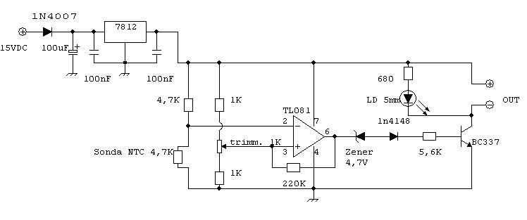 Schema Elettrico Termostato Ambiente : Termostato elettronico massari electronics